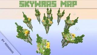 Minecraft Speed Build : SkyWars Map