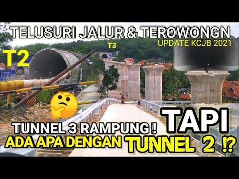 Progres Proyek Terowongan Kereta Cepat Jakarta Bandung KCJB KCIC 2021