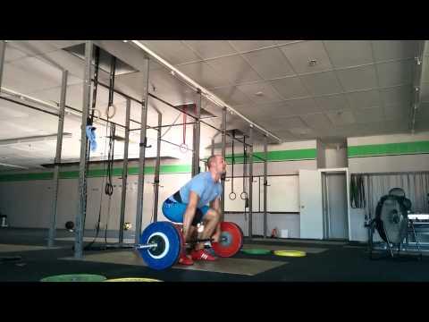 Willie McLendon 125kg clean pull&clean miss
