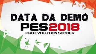 Konami divulga a data da demo do pes 2018