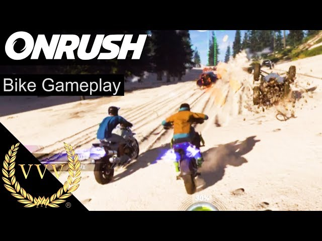 ONRUSH | Xbox One X Preview | Bike Gameplay