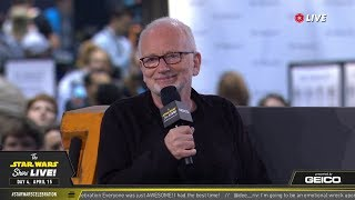 Download Ian McDiarmid Takes The Stage At SWCC 2019 | The Star Wars Show Live! Mp3 and Videos