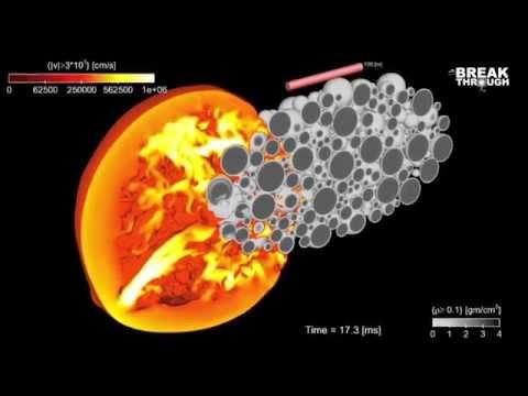 Breakthroughs - Los Alamos National Lab Asteroid Killer Simulation