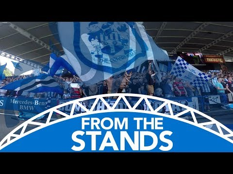 👏UNBELIEVABLE SUPPPORT! FROM THE STANDS: Huddersfield Town vs Arsenal Mp3