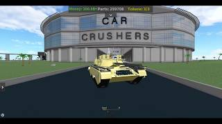Car Crushers 2 / Buying the M2A4 S1! / Roblox / (#20)