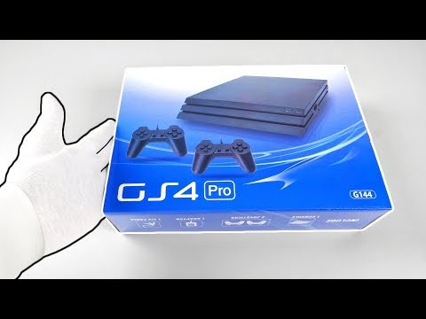 $25 Fake PS4 Pro Console Unboxing... (Surprise from China)