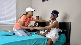 """""""I GOT FEELINGS FOR YOU"""" PRANK ON TREY FROM AR'MON AND TREY!!!"""