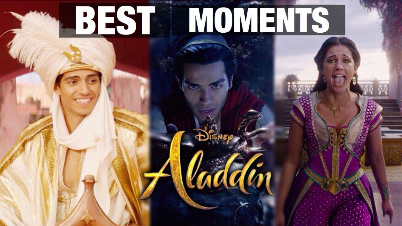 ALADDIN (2019) Best Moments - Prince Ali, Speechless & Genie's Lamp