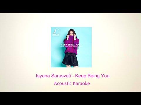 Isyana Sarasvati  Keep Being You Karaoke Version