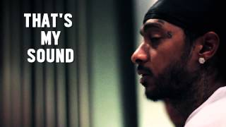 "Nipsey Hussle ""Checc Me Out"" Studio Session"