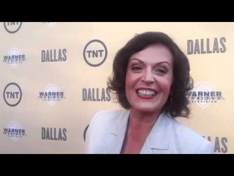 Marlene Forte at the premier of DALLAS by Vanessa Lua for whatthehelldidshesay.com