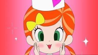 手作りお菓子でいとしくんをもてなそうとしたるるちゃんだったが、上手く作ることが出来ない。そこでアクビちゃんに魔法でパティシエにして...