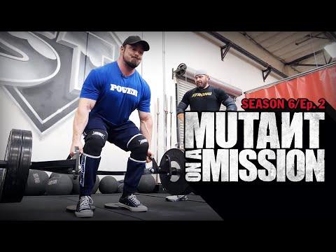MUTANT ON A MISSION | Super Training Gym Sacramento, CA