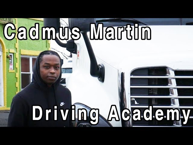 Cadmus aced his CDL Driving Test - Driving Academy Student Testimonial