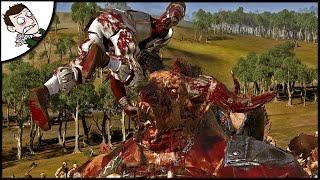 BRUTAL EMPIRE V 7000 BEASTMEN SURVIVAL! Total War WARHAMMER Beastmen Gameplay!