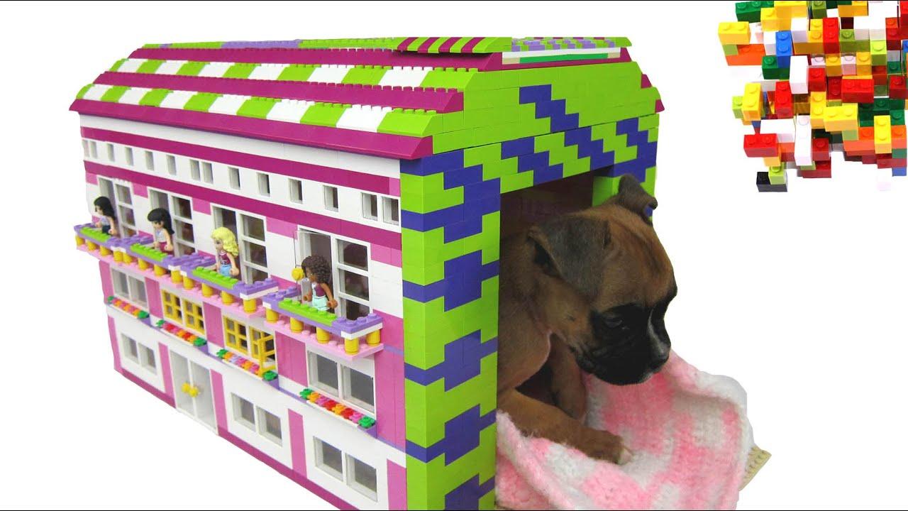 Real Life Lego House Lego Misty Lego Friends Doghouse 2 By Misty Brick Youtube