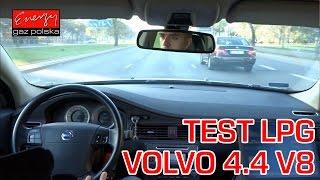 Jazda próbna testowa: Test LPG Volvo S80 z 4.4 V8 2007r w Energy Gaz Polska na gaz BRC!