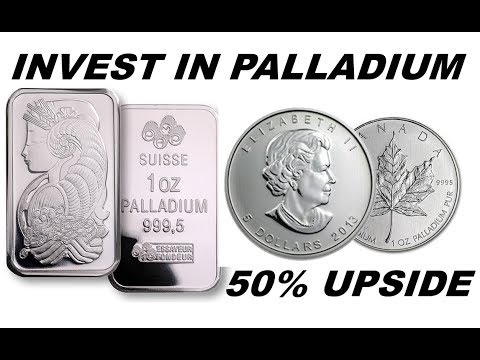 Invest in Palladium - Positive trends, 50% upside