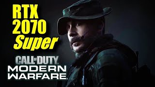Gambar cover Call of Duty Modern Warfare SP RTX 2070 Super OC | 1080p & 1440p RTX ON/OFF | FRAME-RATE TEST
