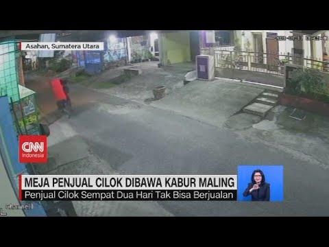 Download Meja Penjual Cilok Dibawa Kabur Maling, Polisi Tangkap Penjambret Viral