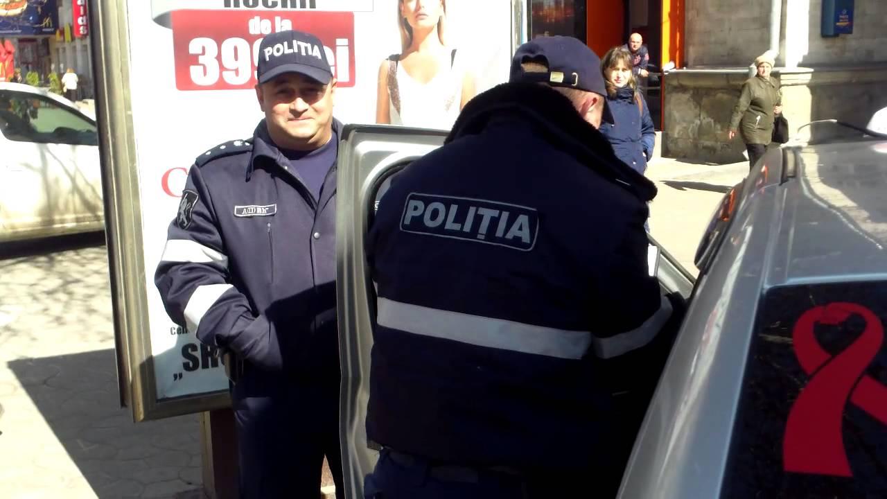 Poliția a lăsat mașina ProTV fără amendă