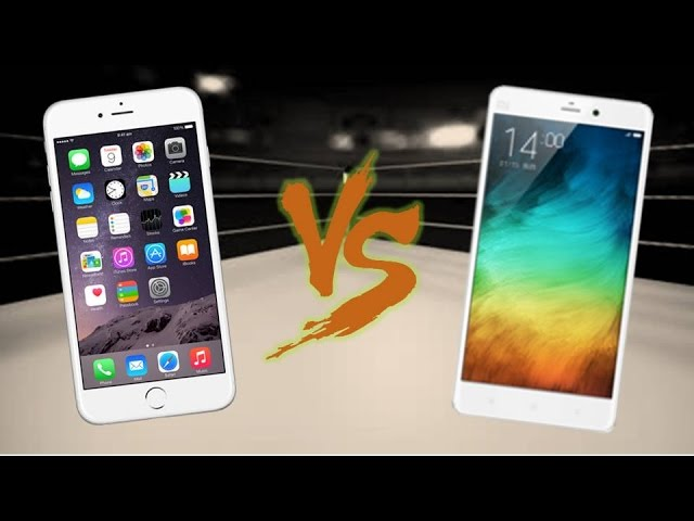 Xiaomi Mi Note Pro and iPhone 6 Plus - Comparison