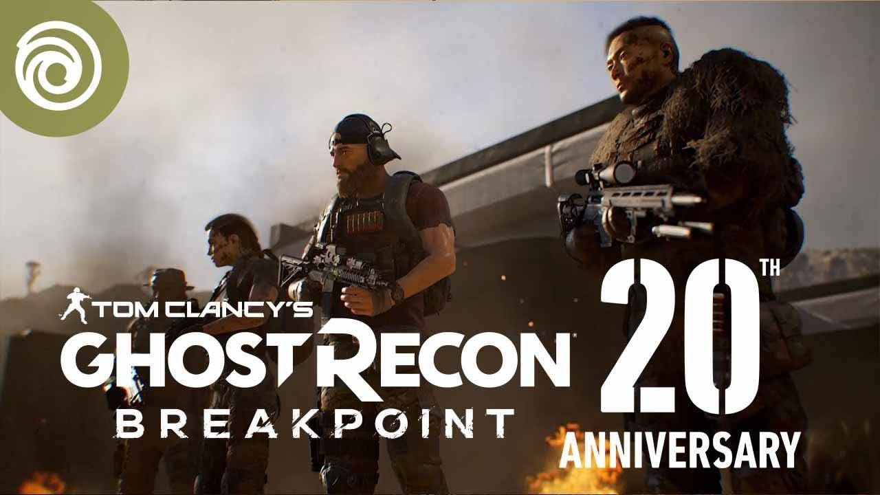 Ghost Recon Breakpoint - Trailer du 20ème anniversaireVOSTFR