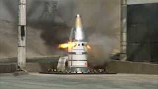 Orion Launch Abort System Attitude Control Motor Qualification Hot Fire Test