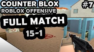 COUNTER-BLOX: ROBLOX OFFENSIVE FULL MATCH #7