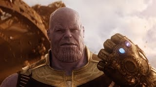 Танос Убивает Мстителей Перчаткой Бесконечности « Мстители: Война бесконечности™️ (2018)»