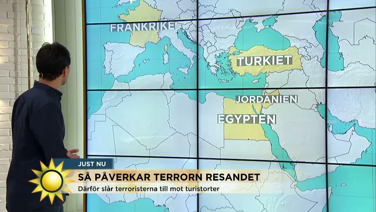 Samir Abu Eid Så Farligt är Det Att Resa Nyhetsmorgon Tv4 Youtube