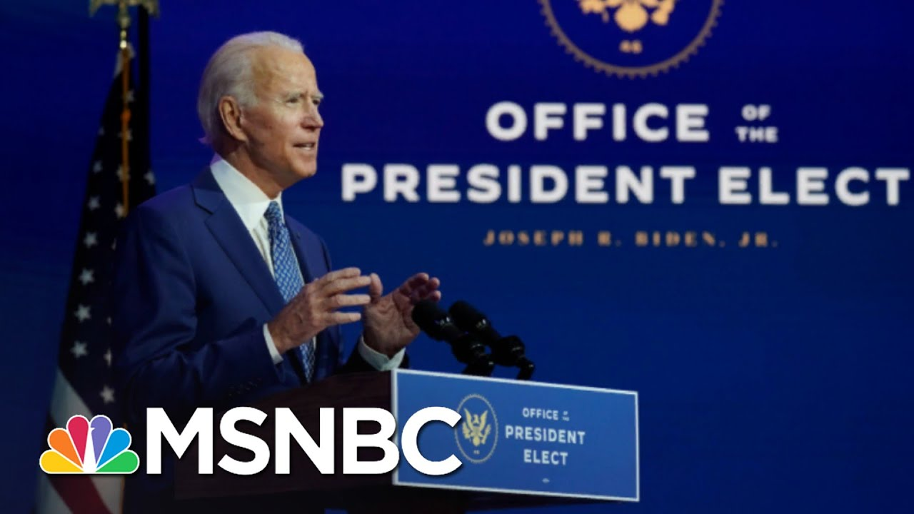 Biden Is Getting To Work While Trump Is Refusing To Concede | The 11th Hour | MSNBC