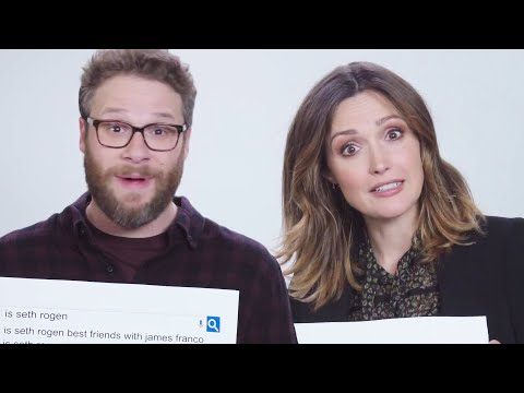 Seth Rogen & Rose Byrne Answer The Web's Most Searched Questions  WIRED
