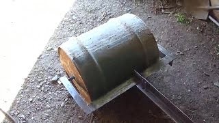 DIY LAWN ROLLER PART 2 MADE WHIT A LINCOLN MIG PAC 140,DIY ROULEAU A GAZON PARTIE 2