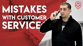 19 Customer Service Mistakes to Avoid