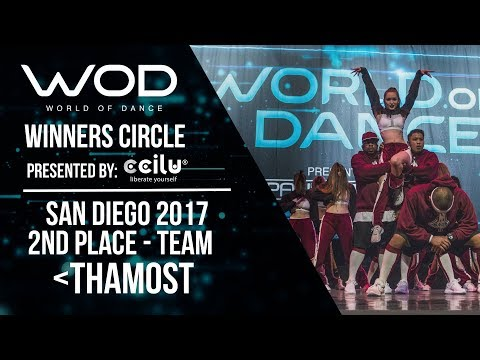 ThaMost | 2nd Place Team Division | Winner's Circle | World of Dance San Diego 2017 | #WODSD17