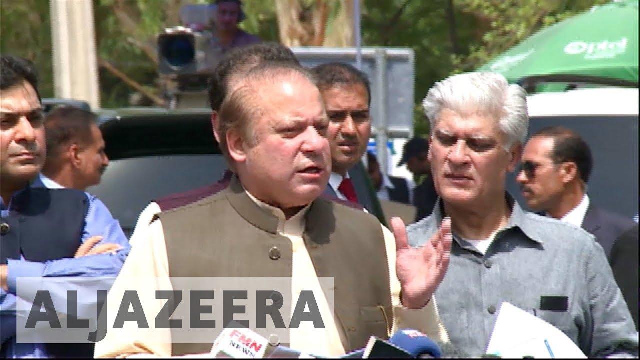 Pakistan's Nawaz Sharif steps down as PM after court disqualifies him