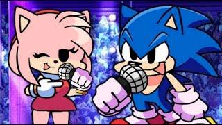 Sonic & Amy - Demons (Friday Night Funkin Sonic Edition)