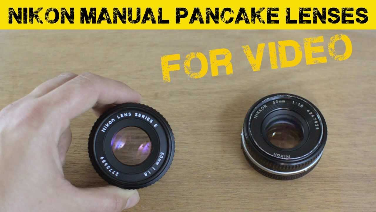 Nikon 50mm 1 8 pancake lens comparison for DSLRs