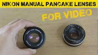 Nikon 50mm 1.8 pancake lens comparison for DSLRs