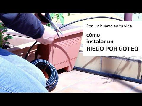 Cómo instalar un riego por goteo en macetas thumbnail
