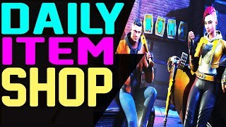 Fortnite Daily Item Shop August 2 NEW ITEMS & FEATURE SKIN SHADE MAVERICK CLUTCH AXE,