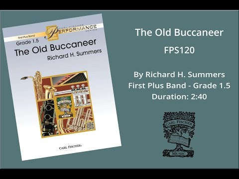 The Old Buccaneer (FPS120) by Richard H. Summers
