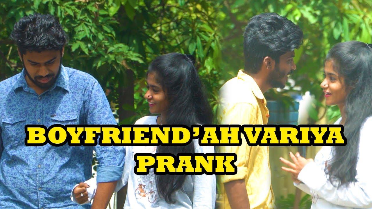 Boyfriend'ah Variya Prank | Prank Show #58 | Kovai 360