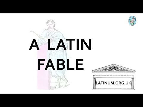 Latin Language Fables 01  to 39 from Jacobs and Doring's Latin Reader Book One
