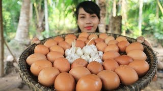 Yummy cooking chicken egg recipe - Cooking skill