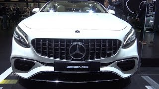 2018 Mercedes Benz AMG S63 Coupe - Exterior And Interior Walkaround - 2018 Detroit Auto Show