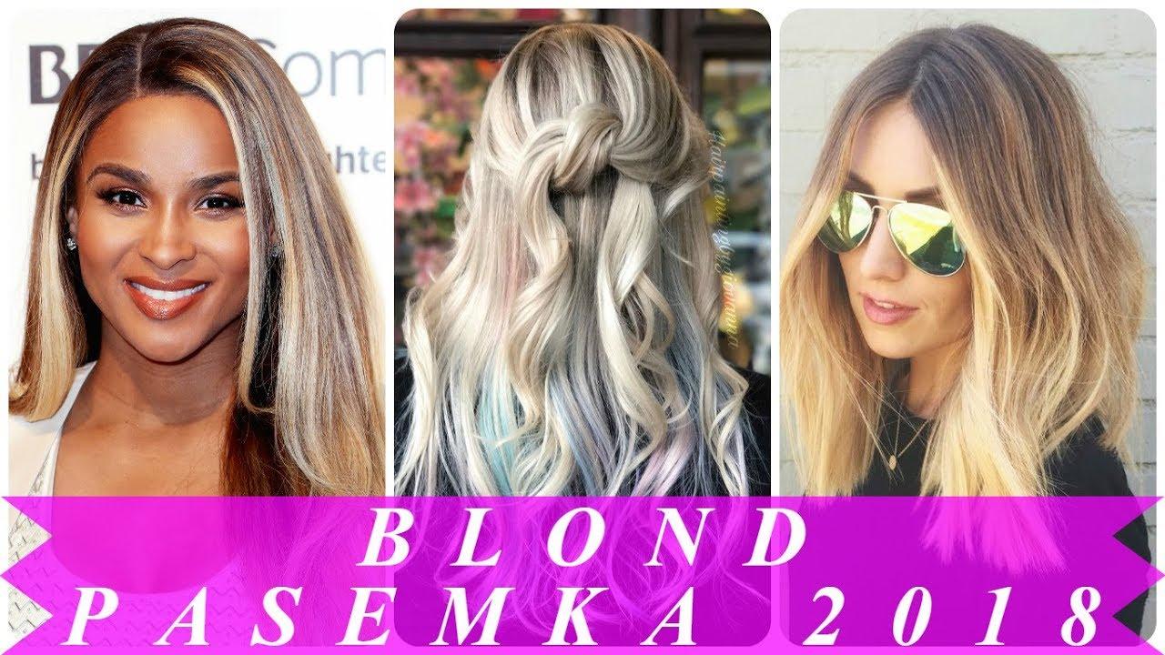 Refleksy Na Blond Włosach 2018