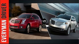 Which One? 2015 Lincoln MKX vs. 2015 Cadillac SRX on Everyman Driver