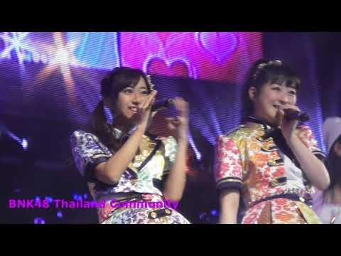 AKB48 X BNK48 Mini concert Live JAPAN MYANMAR PWE TAW 2018 {fancam full hd} part 01